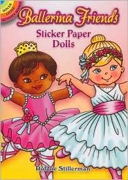 Ballerina Friends Sticker Paper Dolls - Robbie Stillerman