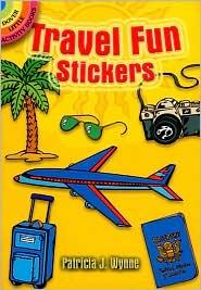 Travel Fun Stickers - Patricia J. Wynne