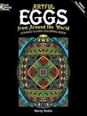 Artful Eggs from Around the World Stained Glass Coloring Book - Marty Noble