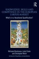 European Skills and Qualifications: Towards a European Labour Market