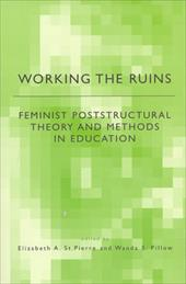 Working the Ruins: Feminist Poststructural Theory and Methods in Education - St Pierre, E. / St Pierre, Elizabeth / Pillow, Wanda S.