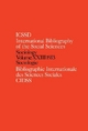 IBSS: Sociology - International Committee for Social Science Information and Documentation;  International Committee for Social Sciences Documentation