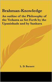Brahman-Knowledge - L. D. Barnett