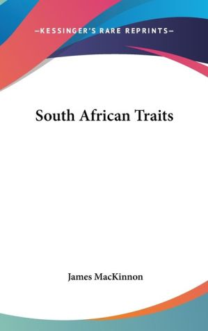 South African Traits - James Mackinnon