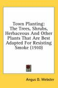 Town Planting: The Trees, Shrubs, Herbaceous and Other Plants That Are Best Adapted for Resisting Smoke (1910)