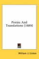 Poems and Translations (1889) - William J Linton
