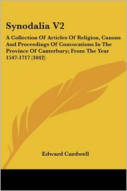 Synodalia V2 - Edward Cardwell
