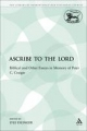 Ascribe to the Lord - Lyle Eslinger