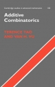 Additive Combinatorics - Terence Tao;  Van H. Vu