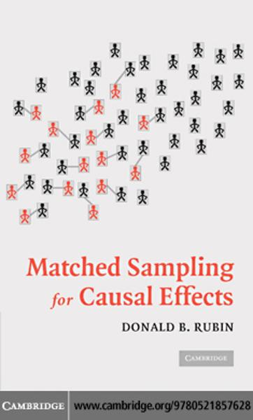 Matched Sampling for Causal Effects - Cambridge University Press