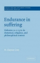 Endurance in Suffering - N.Clayton Croy