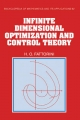 Infinite Dimensional Optimization and Control Theory - Hector O. Fattorini