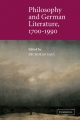Philosophy and German Literature, 1700-1990 - Nicholas Saul