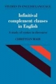 Infinitival Complement Clauses in English - Christian Mair