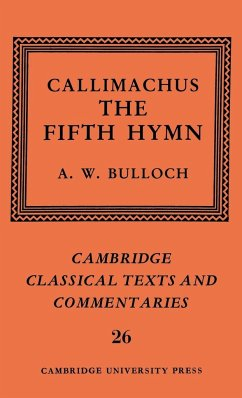 Callimachus: The Fifth Hymn: The Bath of Pallas - Callimachus