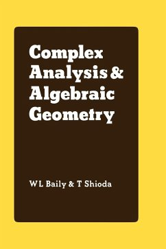 Complex Analysis and Algebraic Geometry: A Collection of Papers Dedicated to K. Kodaira - Baily, W. L. Jr. Shioda, T.