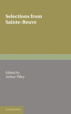 Selections from Sainte-Beuve - Sainte-Beuve, Charles Augustin