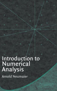 Introduction to Numerical Analysis - Arnold Neumaier