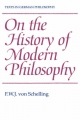 On the History of Modern Philosophy - F. W. J. von Schelling