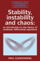 Stability, Instability and Chaos - Paul Glendinning