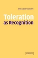 Toleration as Recognition - Anna Elisabetta Galeotti