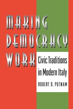 Making Democracy Work - Putnam, Robert D.