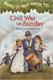 Civil War On Sunday (Turtleback School & Library Binding Edition) - Mary Pope Osborne, Sal Murdocca (Illustrator)