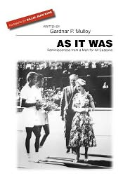 As It Was - Gardnar Mulloy