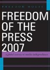 Freedom of the Press: A Global Survey of Media Independence - Karlekar, Karin Deutsch / Marchant, Eleanor