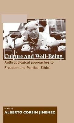 Culture and Well-being - Alberto Corsin Jimenez