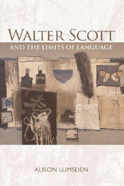 Walter Scott and the Limits of Language - Lumsden, Alison