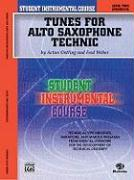 Student Instrumental Course Tunes for Alto Saxophone Technic: Level II