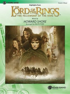 The Lord of the Rings: The Fellowship of the Ring, Highlights from - Komponist: Shore, Howard