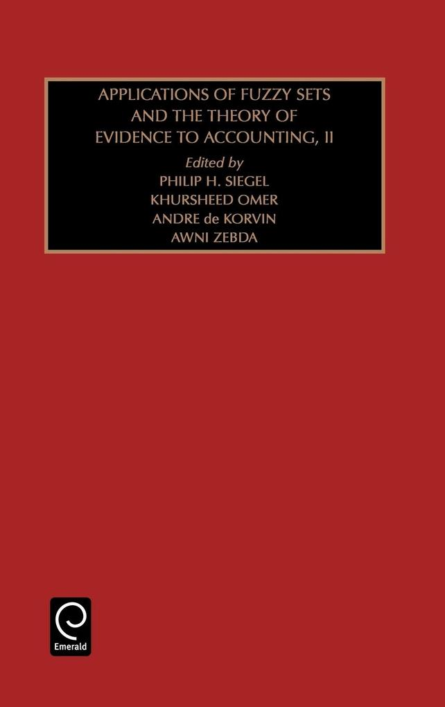 Studies in Managerial and Financial Accounting als Buch von Philip Siegel, H. Siegel Philip H. Siegel, Khursheed Omer - Emerald Group Publishing Limited