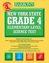 Barron's New York State Grade 4 Elementary-Level Science Test - Barry, Joyce Thornton / Cahill, Kathleen