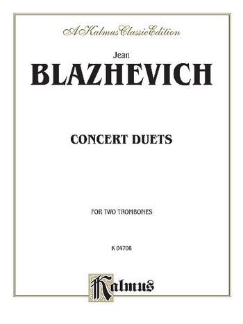 Concert Duets : for 2 trombones - 046842