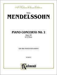 Piano Concerto No. 2 in D Minor, Op. 40 - Felix Mendelssohn