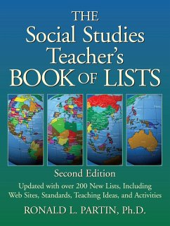 The Social Studies Teacher's Book of Lists - Partin, Ronald L.