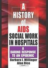 A History of AIDS Social Work in Hospitals: A Daring Response to an Epidemic - Willinger, Barbara / Rice, Alan