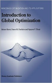 Introduction to Global Optimization - R. Horst, Panos M. Pardalos, Nguyen Van Thoai, Nguyen V. Thoai (Editor)