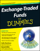 Exchange-Traded Funds For Dummies, Australia and New Zeal - Colin Davidson; Russell Wild