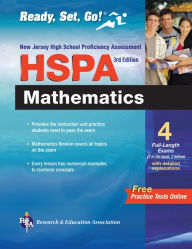 NJ HSPA Mathematics 3rd Edition w/Bonus On-Line Tests (REA) - Ready, Set, Go! - Mel Friedman