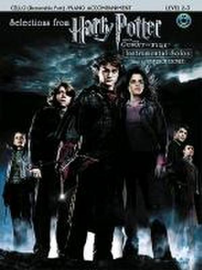 String Selections from Harry Potter and the Goblet of Fire: Cello, Book & CD - Patrick Doyle