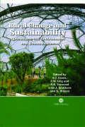 Rural Change and Sustainability: Agriculture, the Environment and Communities
