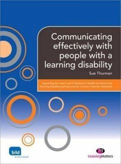Communicating Effectively with People with a Learning Disability - Thurman, Sue
