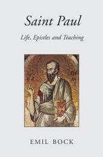 Saint Paul - Emil Bock (author), Maria St Goar (translator)