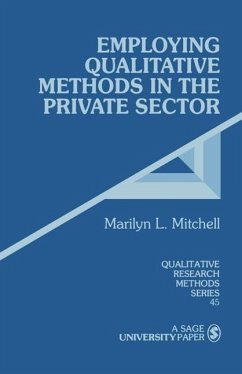 Employing Qualitative Methods in the Private Sector - Mitchell, Marilyn L.
