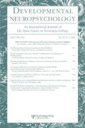 Measurement of Executive Function in Early Childhood: A Special Issue of Developmental Neuropsychology