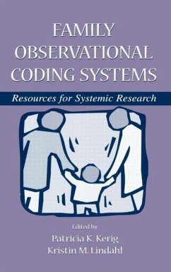 Family Observational Coding System - Herausgeber: Kerig, Patricia Lindahl, Kristin M.