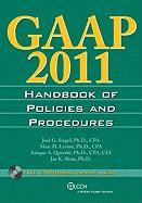 GAAP Handbook of Policies and Procedures (W/CD-ROM) (2011)